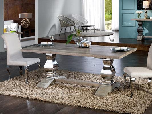 mesas de comedor de madera 43