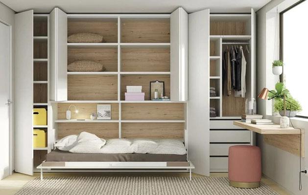 camas abatibles pared 28