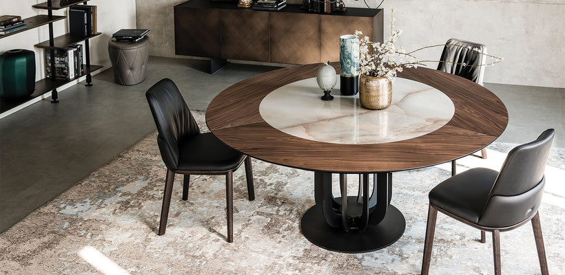 mesa redonda comedor 66