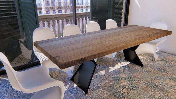 mesas de salon 140