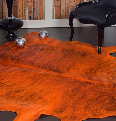 alfombras de piel