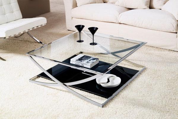 mesa de centro de cristal 10