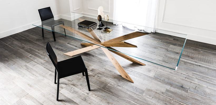 mesas de cristal 66