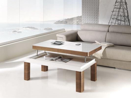 mesa de centro blanca 7