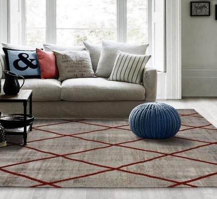 alfombra rombos