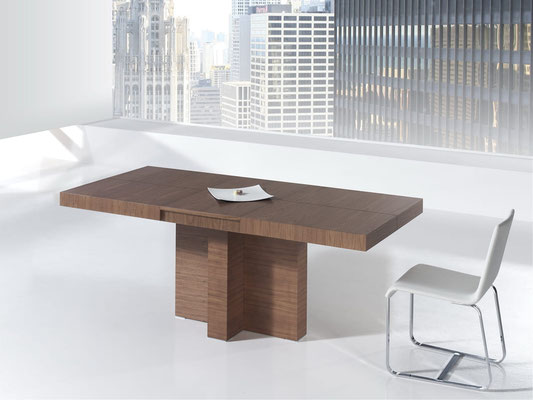 mesas de comedor extensibles modernas 7