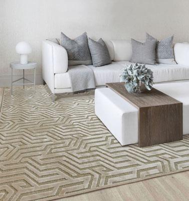 alfombra fina