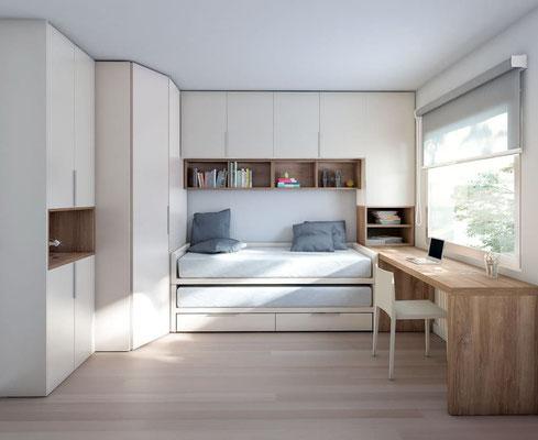 dormitorio juvenil completo 28N