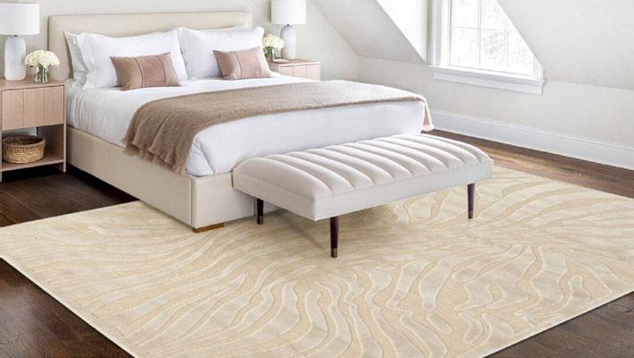 alfombras  pie de cama