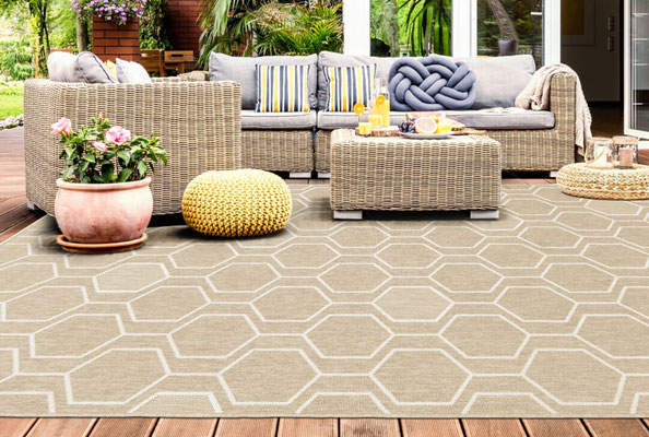 alfombra en exterior