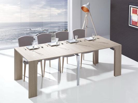 mesa de comedor extensible 7