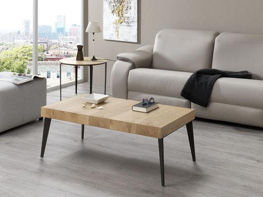 mesa centro madera maciza 7