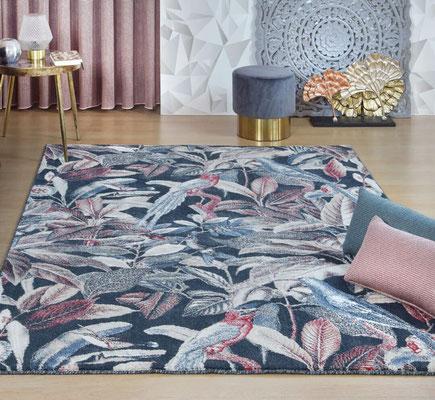 alfombras multicolores