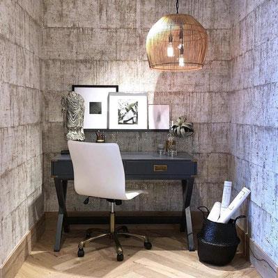 papel pintado salon moderno