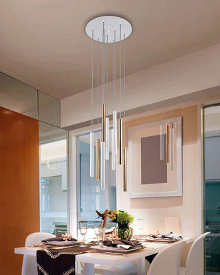 lamparas led de techo