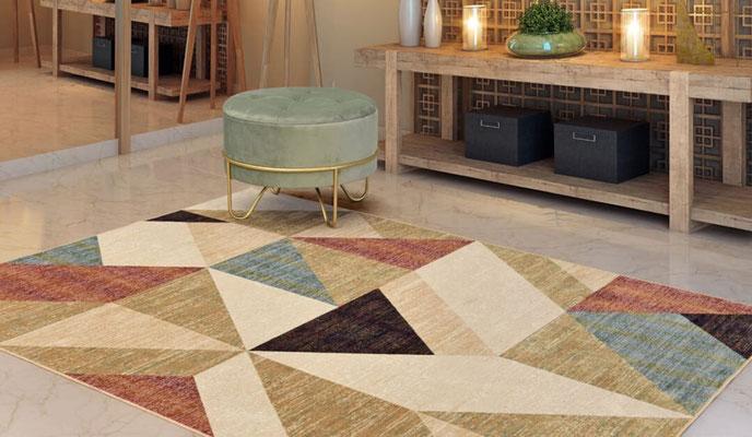 alfombra geometrica