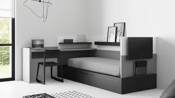 habitaciones juveniles modernas 28