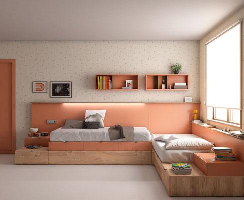 habitaciones juveniles 28N