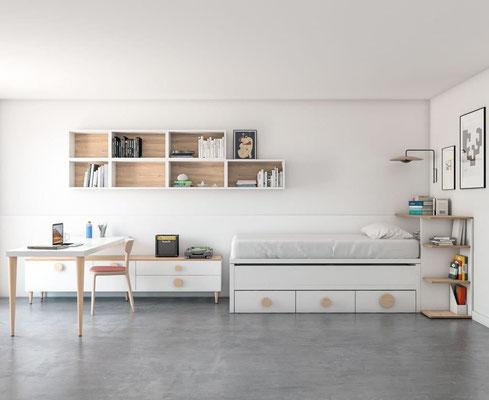 habitaciones con escritorios 28N