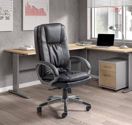 tienda de sillas oficina piel