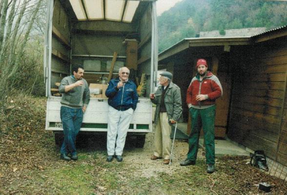 Jean Marc Ballif, Louis Beney, René Dumauthioz, Philippe Pérusset