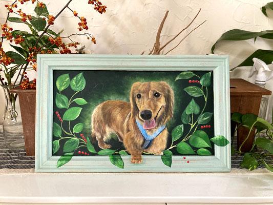 ペット肖像画¥20,000