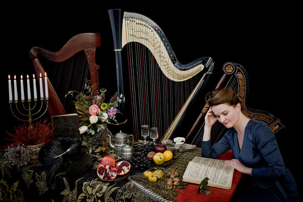 Maria Todtenhaupt | Harpist | Berlin 2016