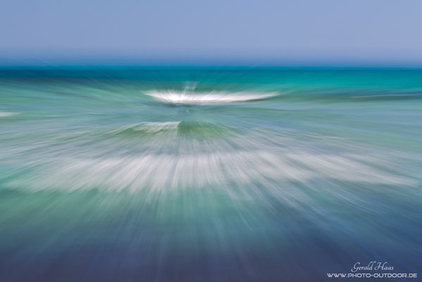 Farben des Meeres.