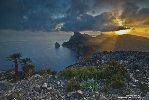 Kap Formentor im Morgenlicht.
