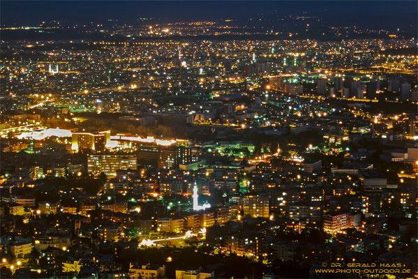 Damaskus bei Nacht