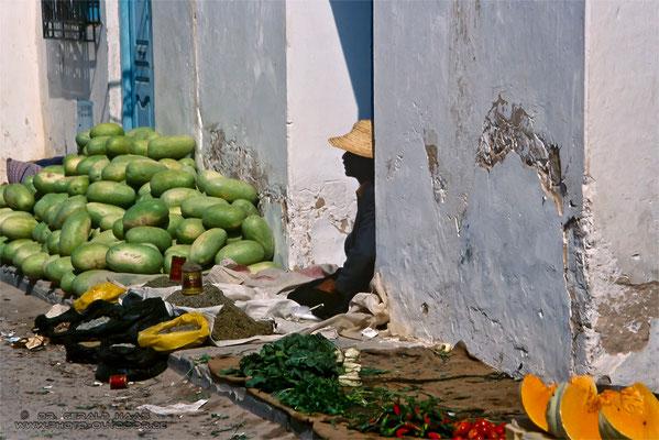Markt - Tunesien