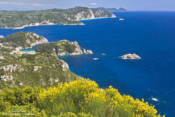 Westküste von Korfu
