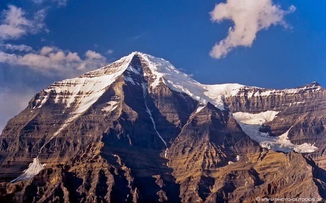 Mount Robson (ohne Wolkenhaube!)