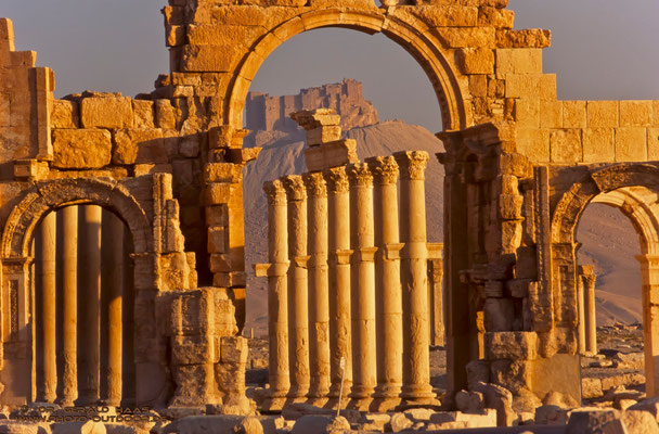 Unterwegs in Palmyra