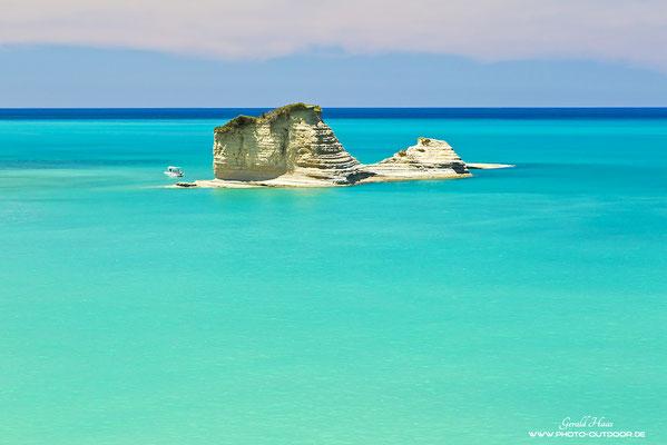 Vorgelagerte Insel bei Kap Drastis