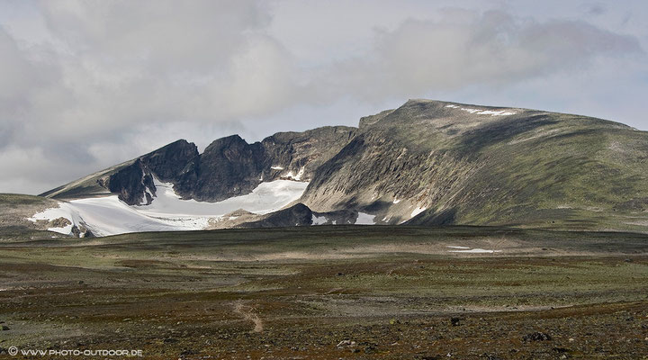 Snohetta - der höchste Berg im Dovrefjell-NP