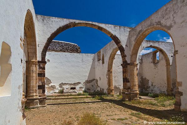 Die alte Klosterruine San Buaneventura