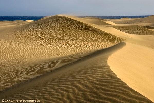 Die Sanddünen von Maspalomas