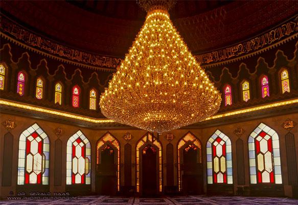 Innenraum einer Moschee