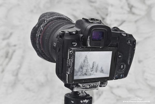 Härtetest für die Canon EOS R im Winter bei eisigen Temperaturen.