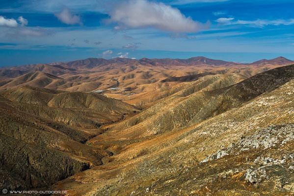 Ausblick vom Mirador am Pass Degollada del Viento