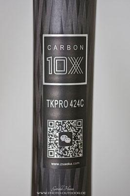 Das AOKA TKPRO 424C wird aus 10-lagigem Carbon gefertigt!