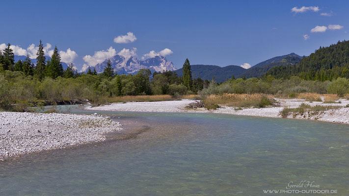 Die obere Isar ist der letzte Wildfluss in Deutschland