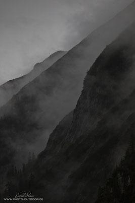 Solche Wetterstimmungen faszinieren mich in den Bergen immer wieder.