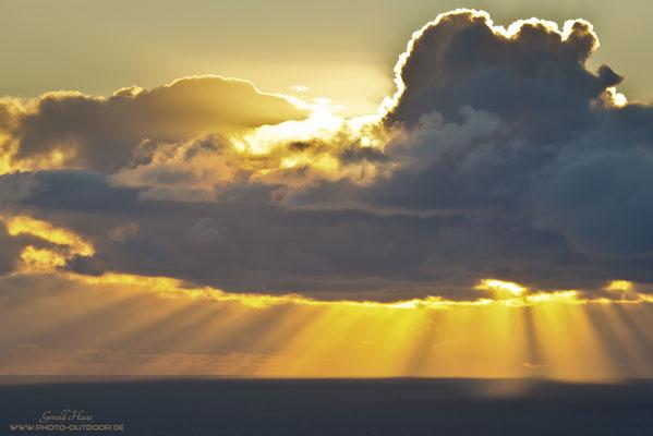 Die legendären Sonnenuntergänge von La Palma