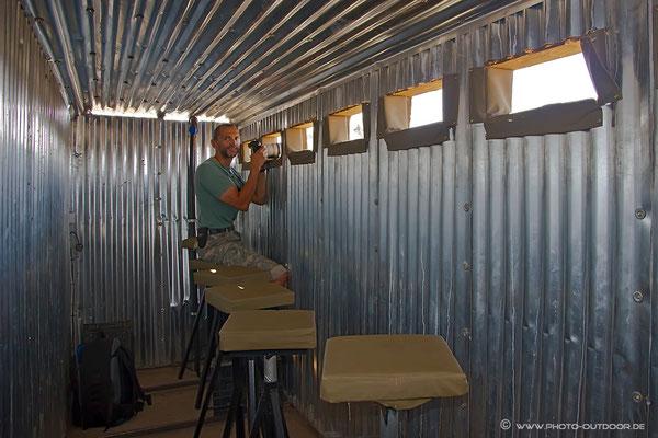 Im elephant bunker/Botswana