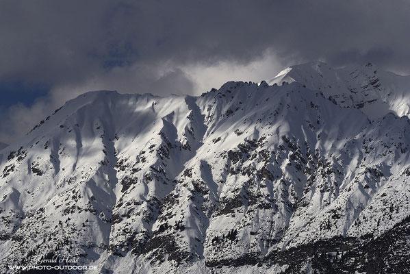 Wenn dann noch Wolken um die Gipfel ziehen, könnte ich stundenlang zusehen.