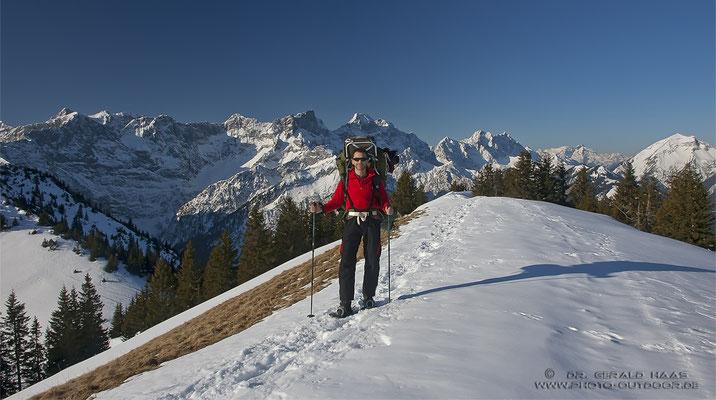 Was für ein Bergpanorama!