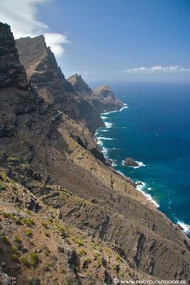 Steilküste im Westen der Insel