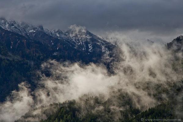 Wolkenspiel in den Hohen Tauern